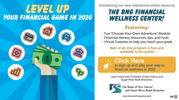 Level up your financial game in 2020. Click here to sign up and play your way to financial wellness in 2020.