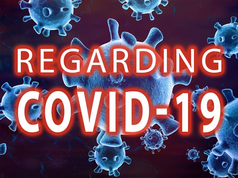 Important Notice Regarding Coronavirus